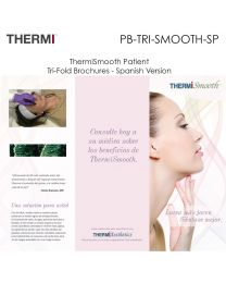 PB-TRI-SMOOTH-SP ThermiSmooth Patient Tri-Fold Brochures