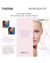 PB-TRIFOLD-BR-SP ThermiRF Patient Tri-Fold Brochures
